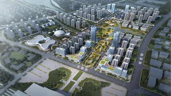 绿地集团湘江城际空间站营销中心开放
