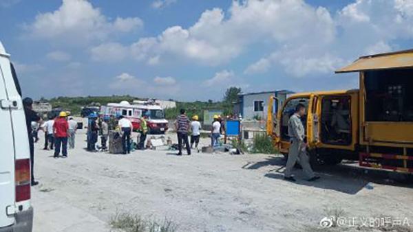 湖北广水一隧洞发生事故6人被困,正在救渔具微商代理加盟援中