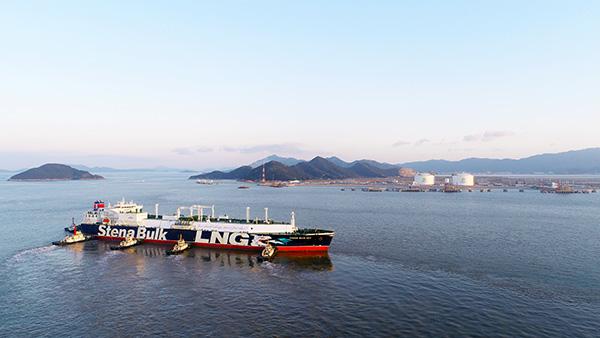LNG运输船Stena Blue Sky号