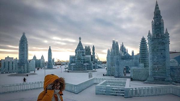 冰雪节现场图片