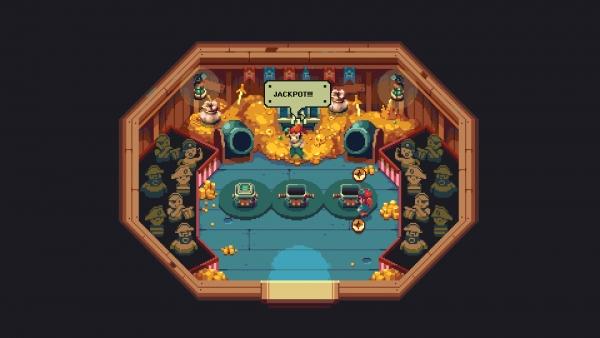 2019年新开2d网络游戏排行榜_2D冒险游戏《Sparklite》在GDC2019中放出预告片
