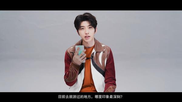 蔡徐坤访谈视频意外曝光vivoS5新机采用菱形摄像头