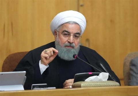 材料图:伊朗总统鲁哈僧。(图源:IfpNews)