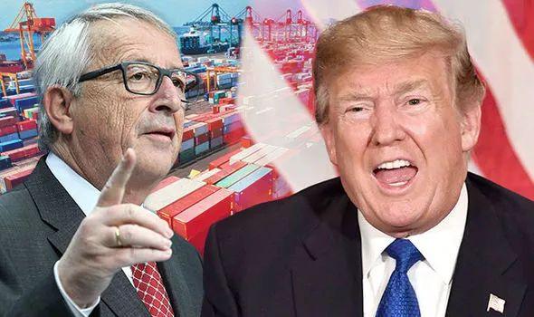 此外,欧盟是一个比美国更大的经济体,并且是美国最大的贸易伙伴,去年欧盟对美贸易总额高达7000亿美元。
