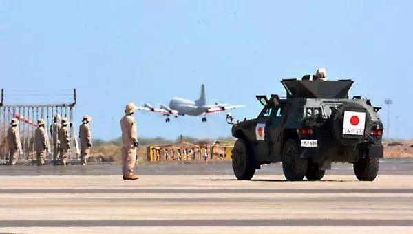 ▲日本自卫队在吉布提的基地