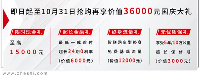 荣威RX5全系降价1.1万,国庆买最高还能降1.5万,该入手了!