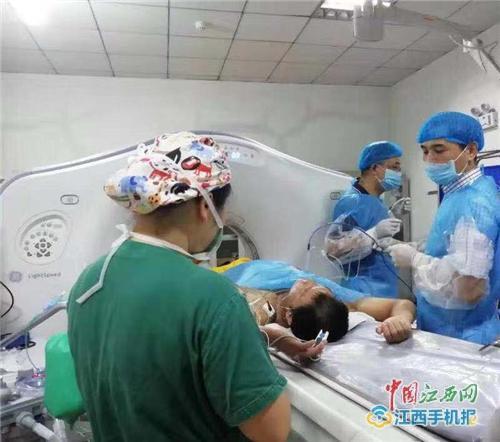 三维标测技术定位 萍矿总医院肺部肿瘤微波消融术获成功