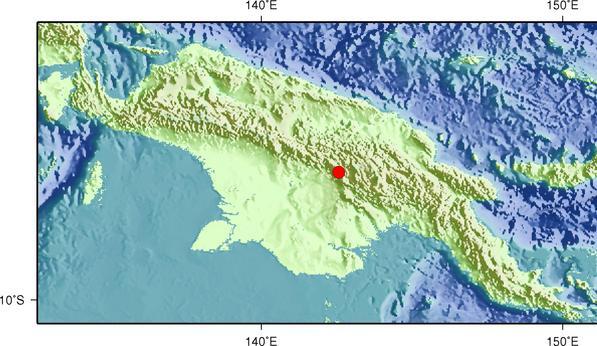 4月7日13时48分巴布亚新几内亚发生6.3级地震