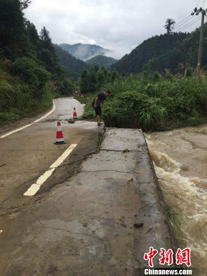 江西多地暴雨成灾 两部委下拨7000万元救灾资金