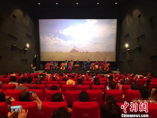 """""""中国电影常设电影院・釜山馆""""开馆 每月上映两部中国电影"""