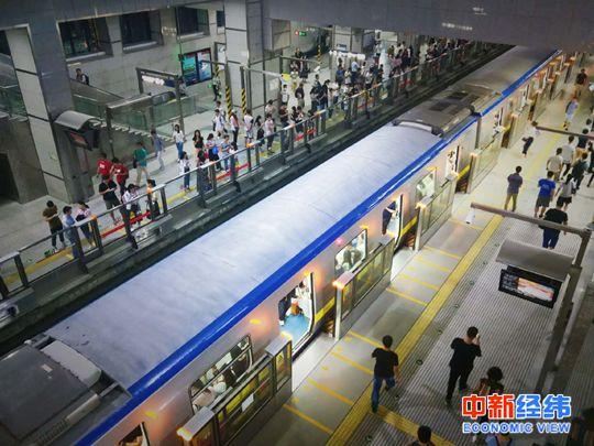▲西二旗地铁站 中新经纬赵佳然摄
