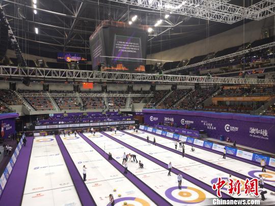 首届冰壶世界杯苏州开幕 2018年冰壶世界杯将于9月12日在苏州工业园区举行