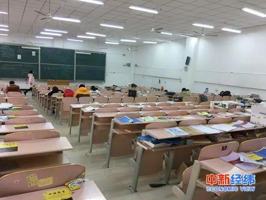 大学课堂 中新经纬 常涛摄