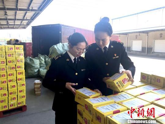 浙江义乌网购保税进口超50万单 单日峰值达60694票