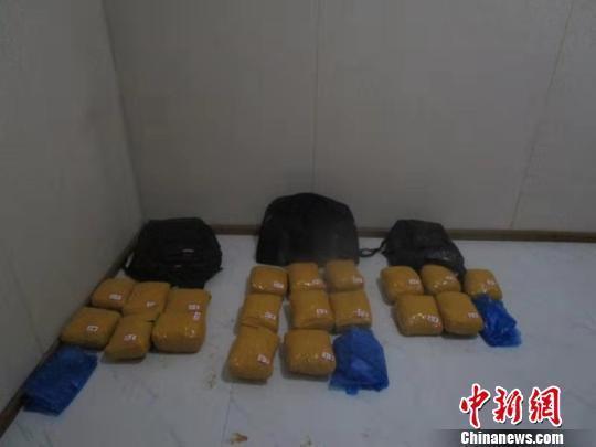 中缅边境云南清水河边检站破获3起毒品案 缴毒逾219公斤