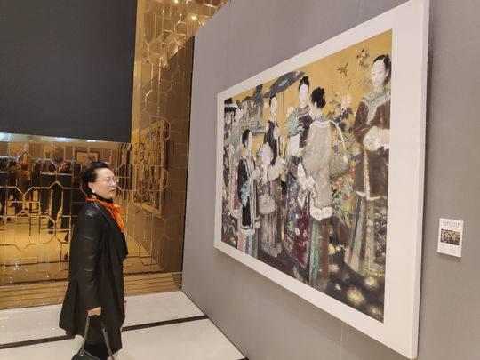 持续到11月15日 100余幅书画作品成都成华福宝美术馆开展