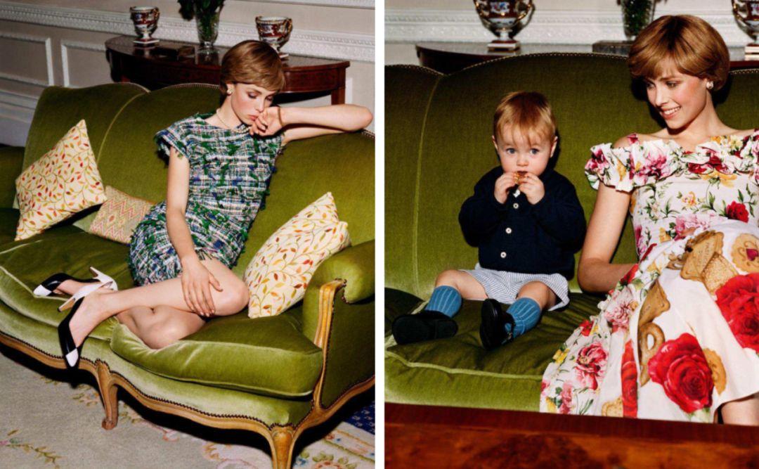 Vogue Paris April 2018 - The Young Lady Di