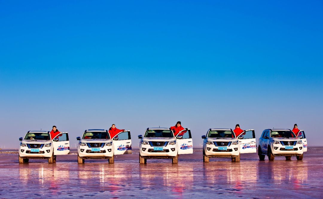 东风日产冰雪嘉年华来查干湖上玩漂移北汽陆霸标志有买吗