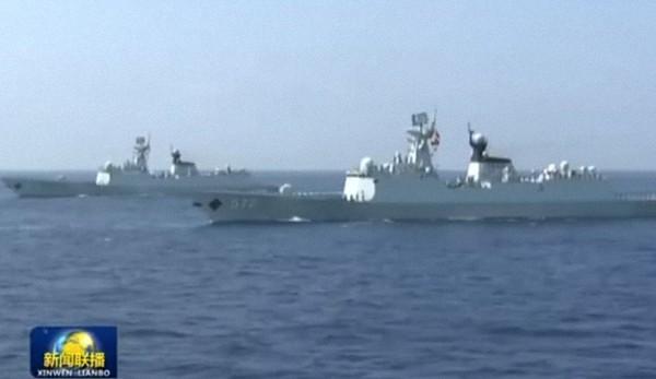 反潜主力:054A型导弹护卫舰。