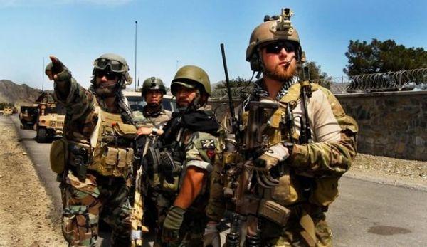 图为在非洲作战的美军