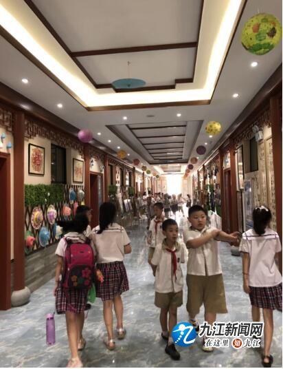 """九江小学""""小水滴课程超市""""开课了"""
