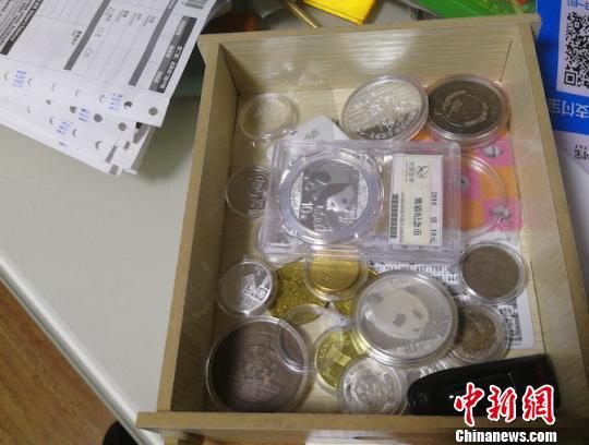警圆查获的假币。警圆供图