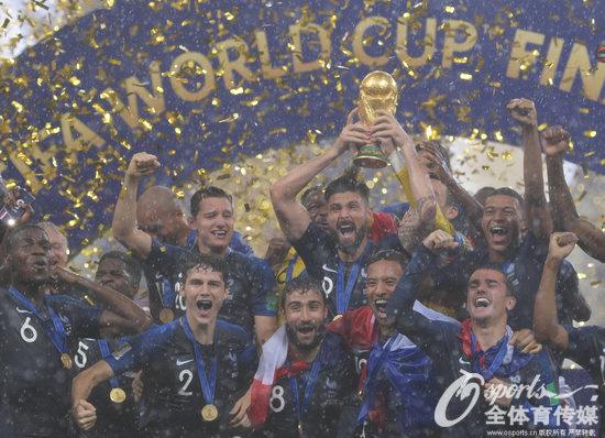 点击世界杯丨捧起大力神代理授权书模板杯!法国4