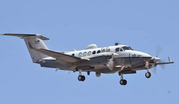圖爲美空軍MC-12W間諜機