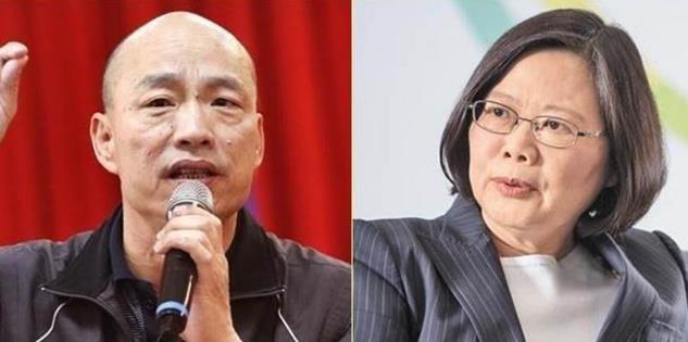 选战倒数3个月蔡英文韩国瑜揭两岸政策底牌