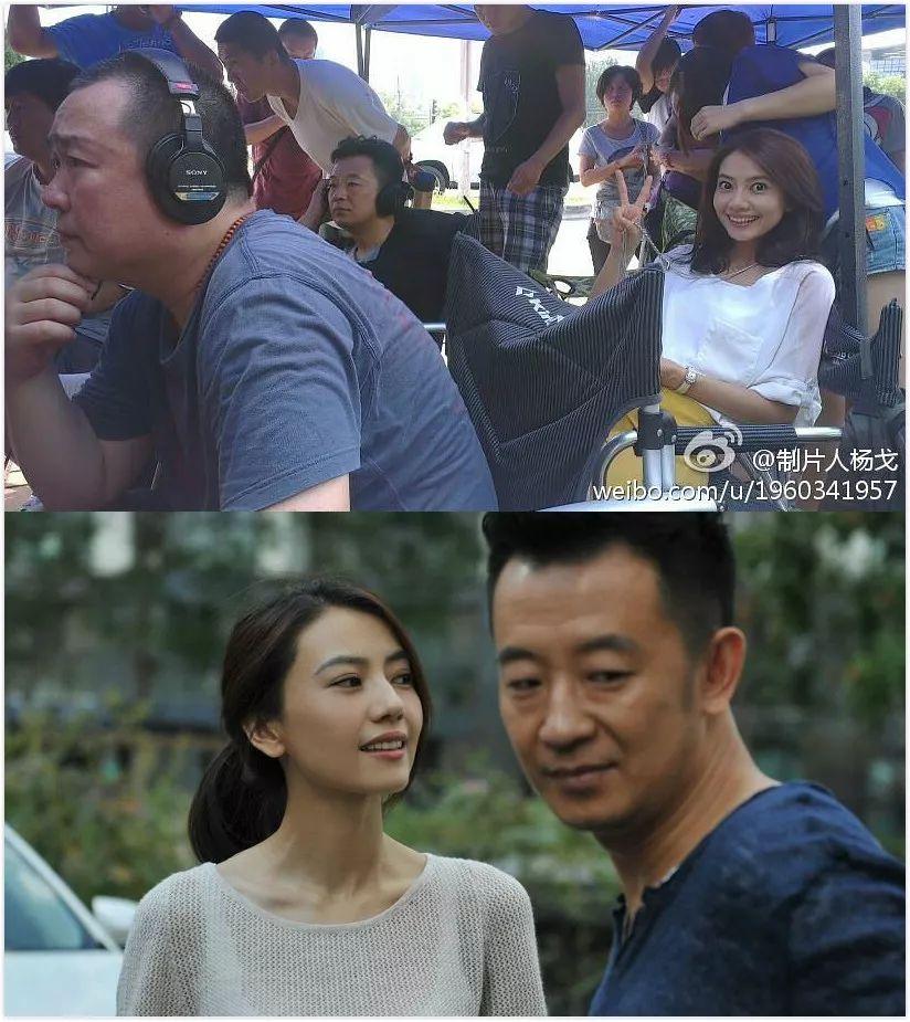 黄海波与导演刘江曾合作过《媳妇的美好时代》《乱世三义》《咱们结婚吧》等剧集作品(图为《咱们结婚吧》片场照+剧照)