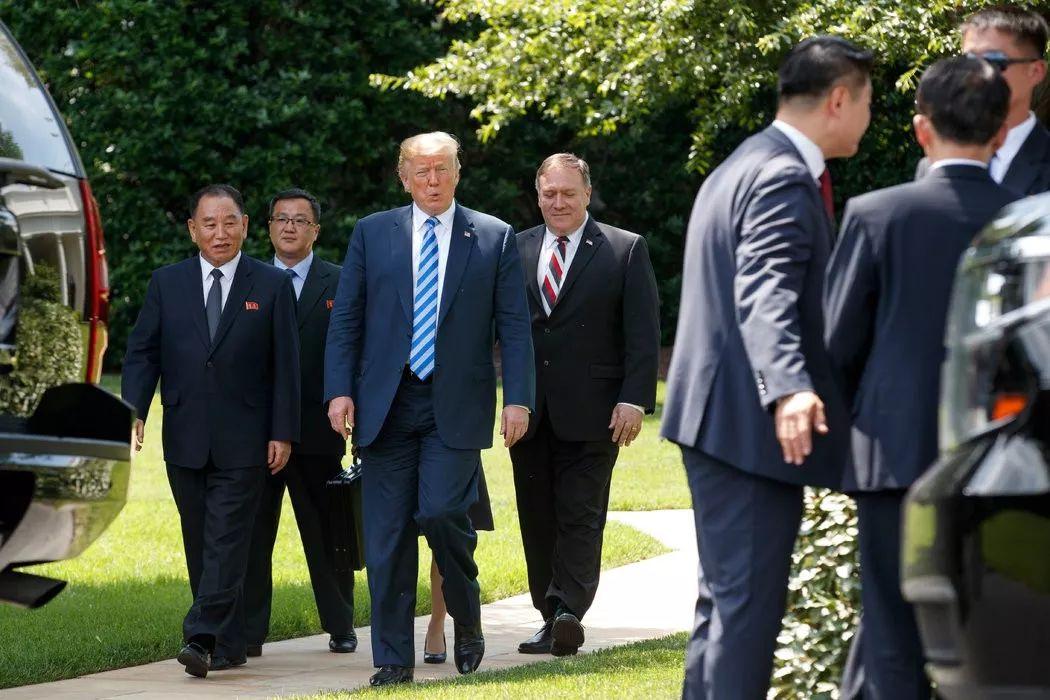 ▲近日,特朗普在白宫与朝鲜的一名高级特使会晤,为与朝鲜领导人的峰会做准备。(美国《纽约时报》)