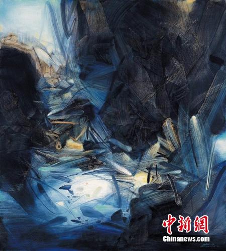 """""""中国抽象艺术展""""将开幕"""