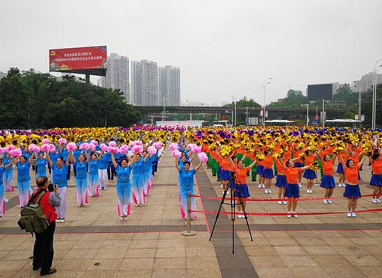 重庆:长寿2018年社区文化节开幕 多彩社区活动唱响文明主旋律