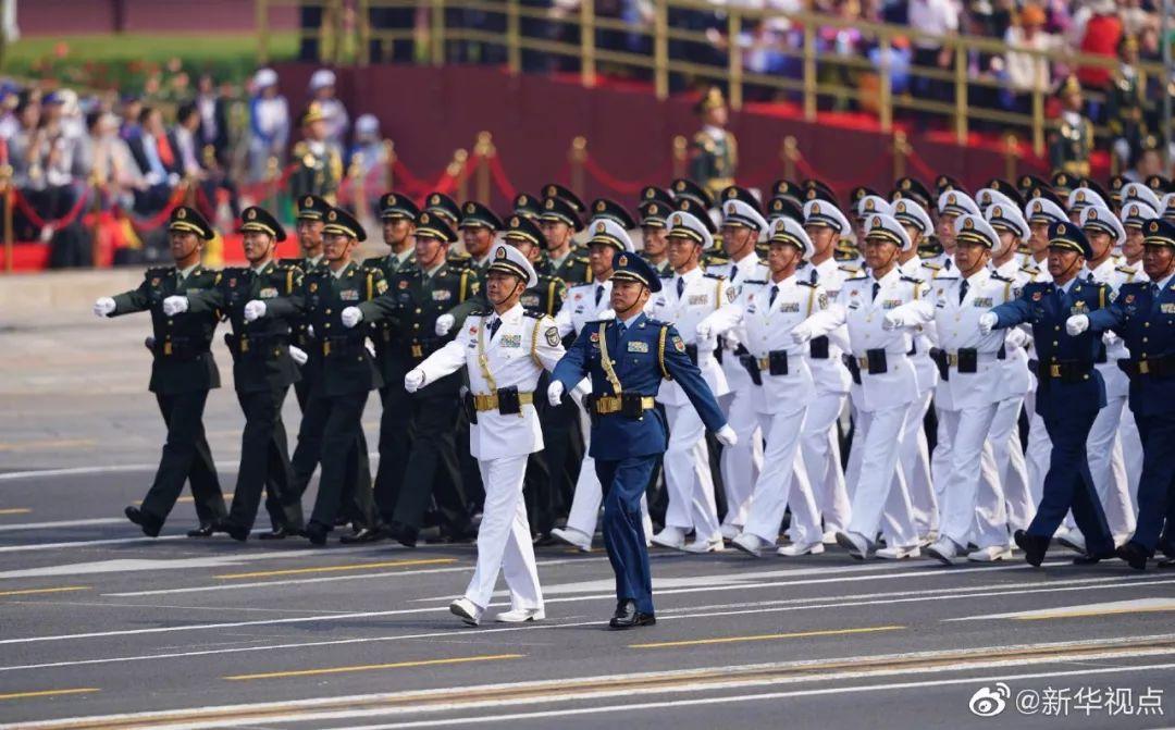 将星云集 国庆阅兵89位将军领队全名单