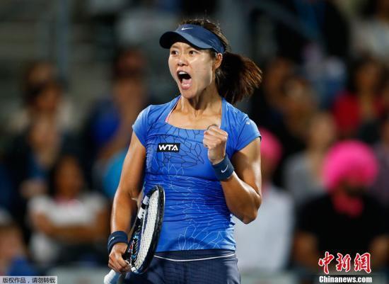 資料圖:中國名將李娜,她在今年加入國際網球名人堂。