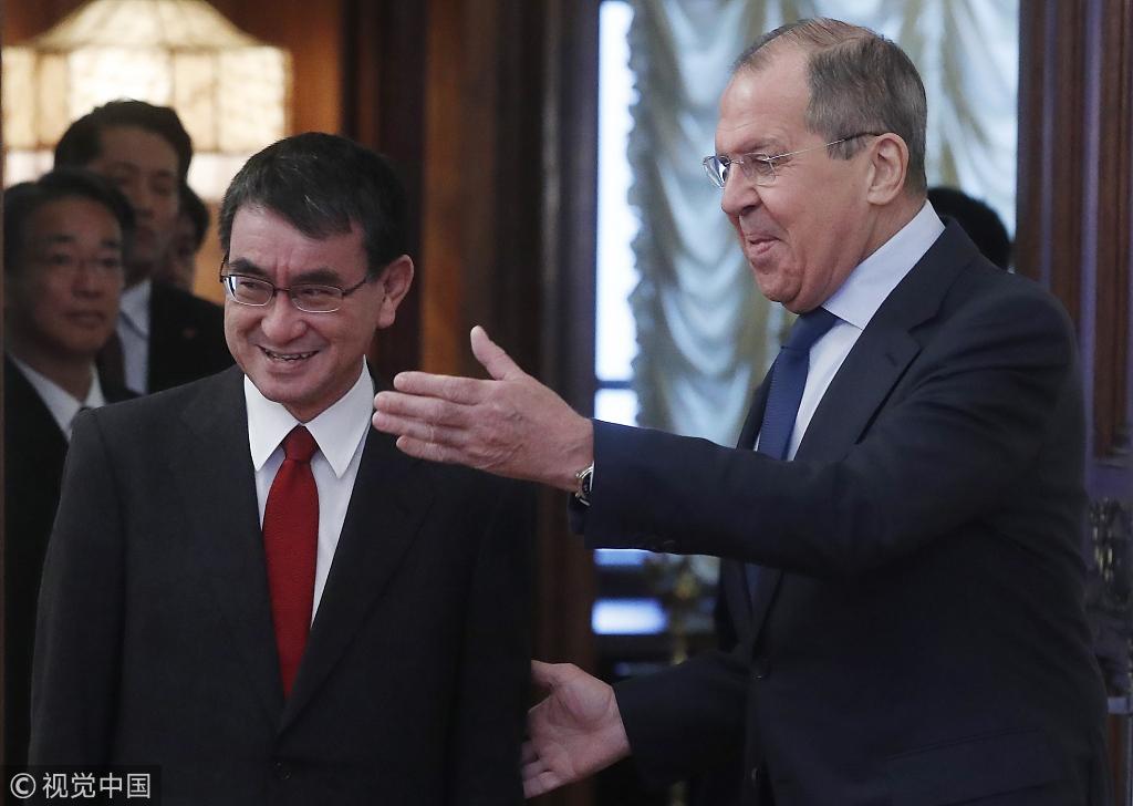 俄日开启首轮和平条约问题谈判 目前双方分歧仍严重