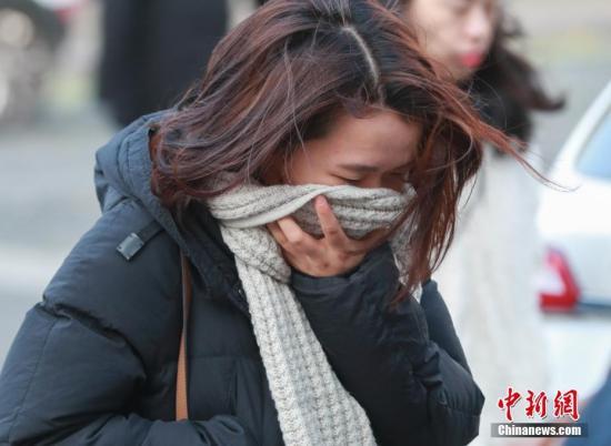 北京市17日晚遇沙尘天气 曾达6级严重污染水平