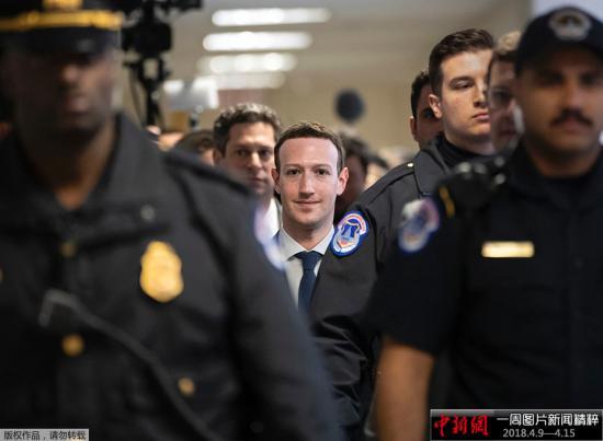 资料图:美国社交媒体平台脸书的首席执行官马克·扎克伯格