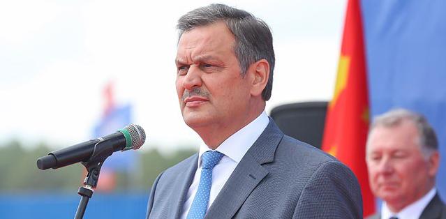 白俄罗斯副总理阿纳托利·加里宁。