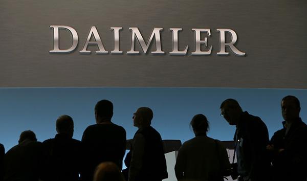 美国对伊朗制裁 奔驰母公司德国戴姆勒暂停在伊