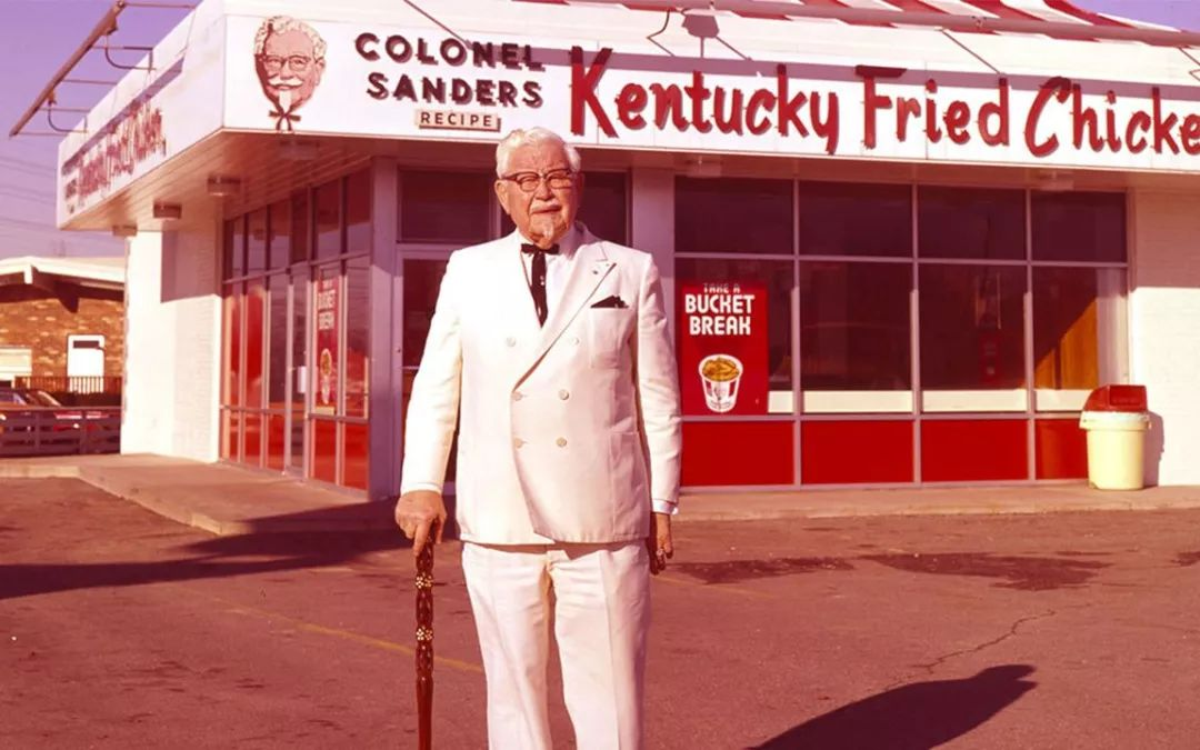 我们心目中,肯德基品牌的创始人哈兰·桑德斯上校长这样.