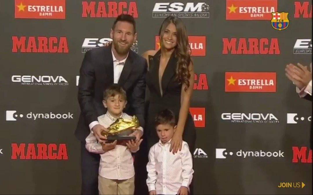 梅西再次创造历史,6夺欧洲金靴