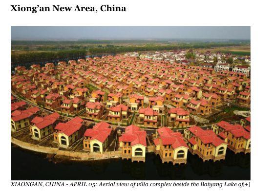 美媒盘点关乎世界未来的五座新城:中国雄安新