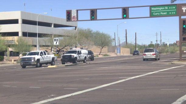 发生事故的路口。(图片来源:福克斯新闻网)