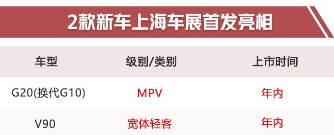 """再等2个月!上汽将发布2款重磅新车,高端MPV""""开怼""""别克GL8?"""