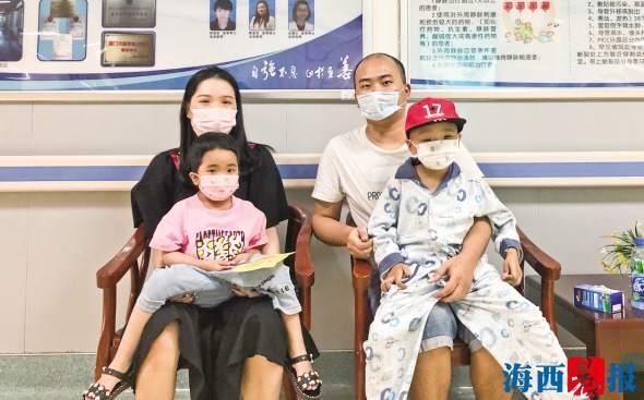 儿女均患重度地中海贫血症 父亲抽骨髓连救两孩