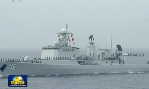 防空悍将:051C型导弹驱逐舰。