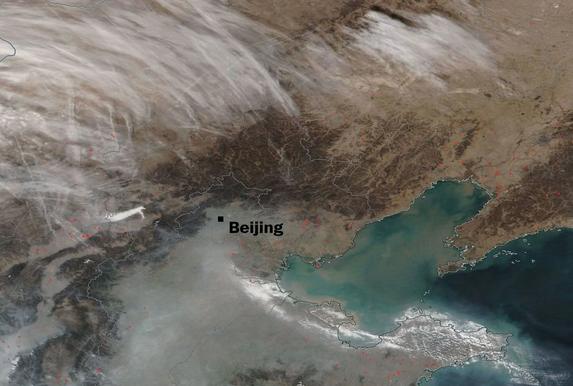 新德里毒气弥漫北京晴空万里 美媒感叹:天壤之别