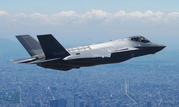 资料?#35745;?#26085;本空自此次损失的首架国产F-35A隐身战机。(?#35745;?#26469;源于网络)
