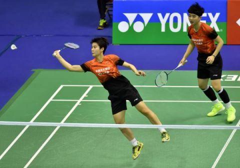 观赛 | 羽毛球香港公开赛:杜玥/李茵晖晋级